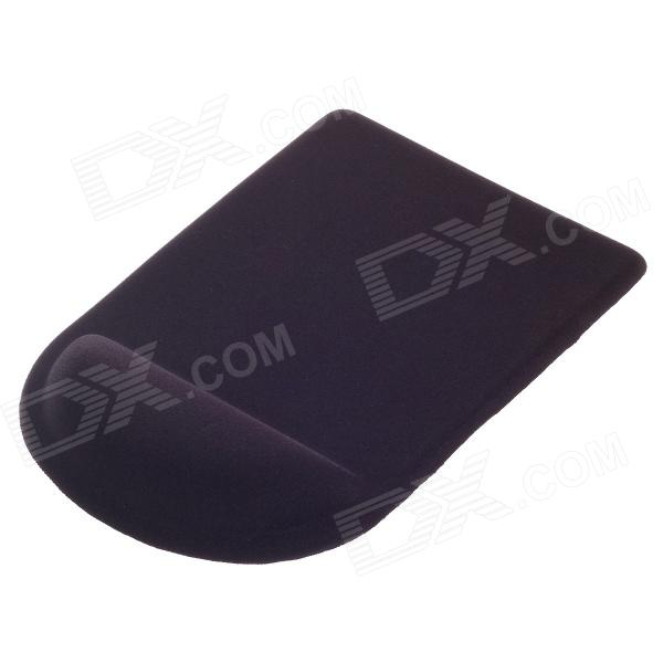 M960 Relieve Fatigue Mouse Pad with Gel Wrist Support - Black