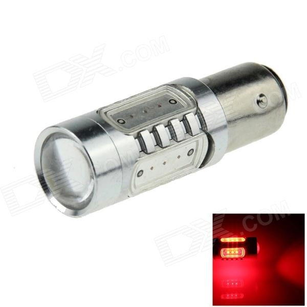 1157 / BAY15D 2.7W 400lm 700nm 5-LED Red Car Brake / Backup / Steering / Tail Light Lamp - (12~24V)