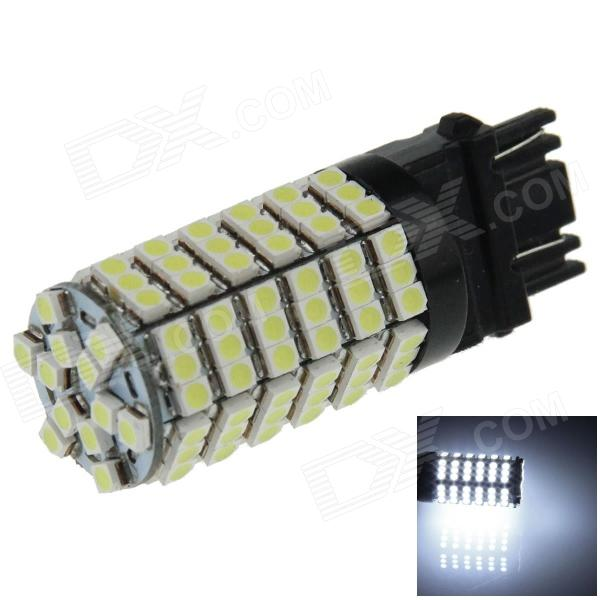 3156 / 3157 6W 600lm 120 x SMD 3528 LED White Light Car Steering / Brake / Backup / Tail Lamp (12V)