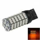 7443/7440/T20 6W 600lm 120 x SMD 3528 LED Orange Car Steering / Brake / Backup / Tail Light - (12V)