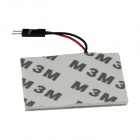 T10 BA9S Festoon 31mm~42mm 5W 600lm 48 x SMD 5630 LED Warm White Car Interior Dome Light - (12V)