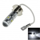 H3-30W H3 30W 600lm 6-Cree XBD R3 White Car Foglight - (12~24V)