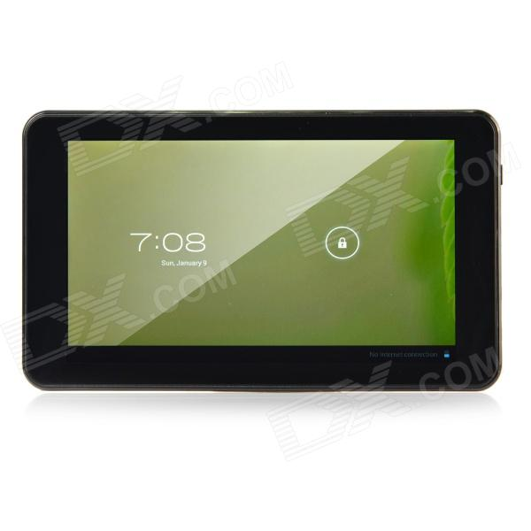 "K86VAPH-21 7"" dual core android 4.1 Tablet PC w / 512 ram, 4GB rom, kamera, Wi-Fi, TF - musta"