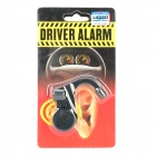 Seguridad al conducir Anti-Sleep / Wake up de alarma w / LED Lamp - Negro (3 x AG13)