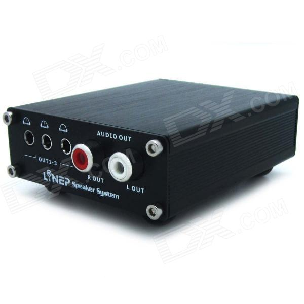 LINE5 A980 Optical / Coaxial to Analogue Signal Converter DAC Decoder - Black