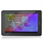 "HL6  7.0"" Capacitive Screen Android 4.2 Quad Core Tablet PC w/ 1GB RAM, 8GB ROM - Black + White"