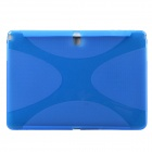 """X""  Pattern Protective TPU Case for Samsung Galaxy Note 10.1 2014 Edition"