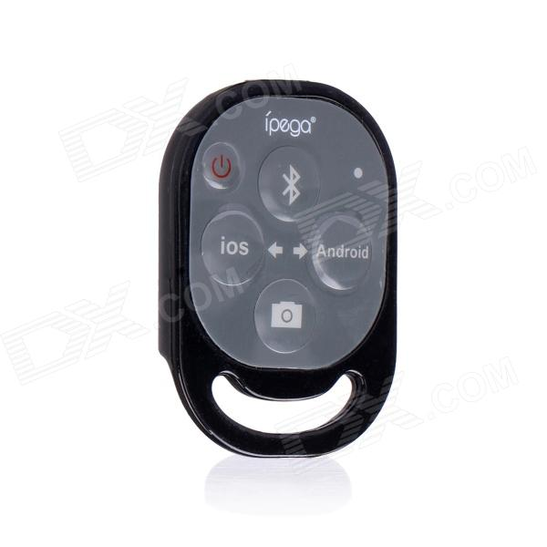 Ipega PG-9019 Bluetooth Remote Control Self Timer Camera Shutter for iOS /  Android Phone - Black