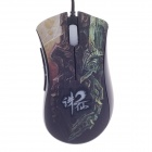 Razer Death Adder USB 2.0 Wired 3500dpi 3.5G Infrared Sensor Optical Gaming Mouse - Black