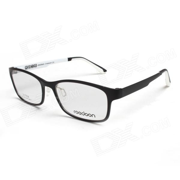 reedoon ut2148 lightweight glasses frame black white