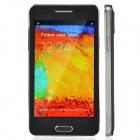 "F9002 Dual-Core Android 4.2 WCDMA Bar Phone w/ 4.2"", Wi-Fi, TF, Dual-Camera - Black + Silver"