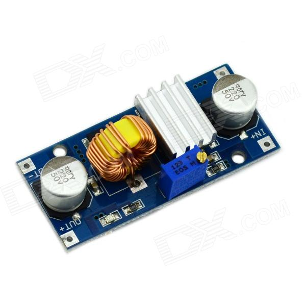 Jtron DC-DC Adjustable Step-Down Module - (5A / 4~38V) dc 7 24v to dc 5v voltage step down transformer module kis3r33s