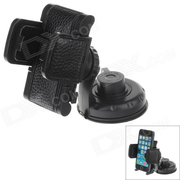 YD2167-K 360 Degree Rotatable Universal Suction Cup Car Mount Holder Bracket for GPS / PDA - Black jhd 12hd68 universal 360 degree rotatable car mount holder for cellphone black green