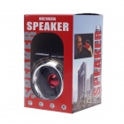 Tobacco Pipe Style Mini Portable Rechargeable Multimedia Speaker - Golden