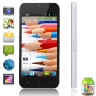 "Xiaocai X800-B Dual Core Android 4.2 WCDMA Bar Phone w / 4,0 ""IPS-Schirm, 4GB ROM - Black + White"