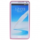 Protective Aluminum Alloy Bumper Frame for Samsung Galaxy Note 3 N9000 - Pink