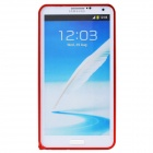 Protective Aluminum Alloy Bumper Frame for Samsung Galaxy Note 3 N9000 - Red
