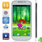 "S20i MTK6572 Dual-core Android 4.2.2 WCDMA Bar Phone w/ 5.0"", 4GB ROM, Wi-Fi, GPS - White"