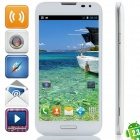 "F240 MTK6572 Dual-core Android 2.3.6 GSM Bar Phone w/ 5.3"", Quad-Band, FM and Wi-Fi - White"