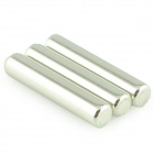D5 x 25mm Powerful NdFeB Magnets - Silver (3 PCS)