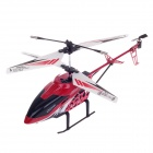 Chuang Hunag CH008 Unzerbrechlich 3-CH IR Remote Control R/C Helicopter w/ Gyro - Red + White +Black
