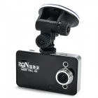 "RIchino RD-F2000 2.7"" TFT LCD 3.0 MP CMOS 1080P Wide Angle Car DVR Camcorder w/ HDMI / TF - Black"