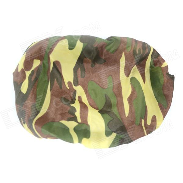 Motorcycle License Plate Anti-Dust Cover - Camouflage