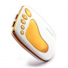 BOCHANG AKMB039 Foot Style 9000mAh Mobile Power Source Bank for Iphone 4 / 5 + More - White + Golden