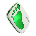 BOCHANG AKMB039 Foot Style 9000mAh Mobile Power Source Bank for Iphone 4 / 5 + More - White + Green