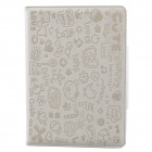 Cute Faerie Pattern Protective PU Leather Case Cover Stand for Ipad AIR - White