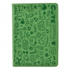 Cute Faerie Pattern Protective PU Leather Case Cover Stand for Ipad AIR - Green