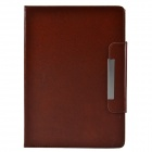 Protective PU Leather + TPU Case Cover Stand w/ Magnetic Closure for Ipad AIR - Brown