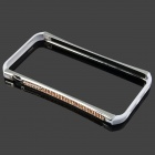 Crystal Studded Protective Aluminum Alloy Bumper Frame for Iphone 5C - Golden