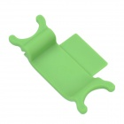 RX-01 2-in-1 ABS Holder Stand + Cable Winder for Iphone 5 / 5c / 5s / Ipod Touch - Green
