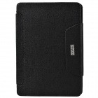 Bluetooth V3.0 64-Key Keyboard w/ Protective PU Leather Case Cover Stand for Ipad AIR - Black