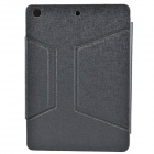 Bluetooth V3.0 64-Key Keyboard w/ Protective PU Leather Case Cover Stand for Ipad AIR - Grey