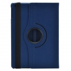 360 Degree Rotation Protective PU Leather Case Cover Stand for w/ Auto Sleep Ipad AIR - Blue