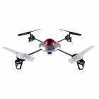 Rechargeable 2.4G 4-CH Radio Control R/C Helicopter w/ 1.3 MP Camera / SD / Gyro - Red + White