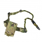 Outdoor Mobile Phone Bag + Gun Rope Sling Set - Jungle Digital Camouflage