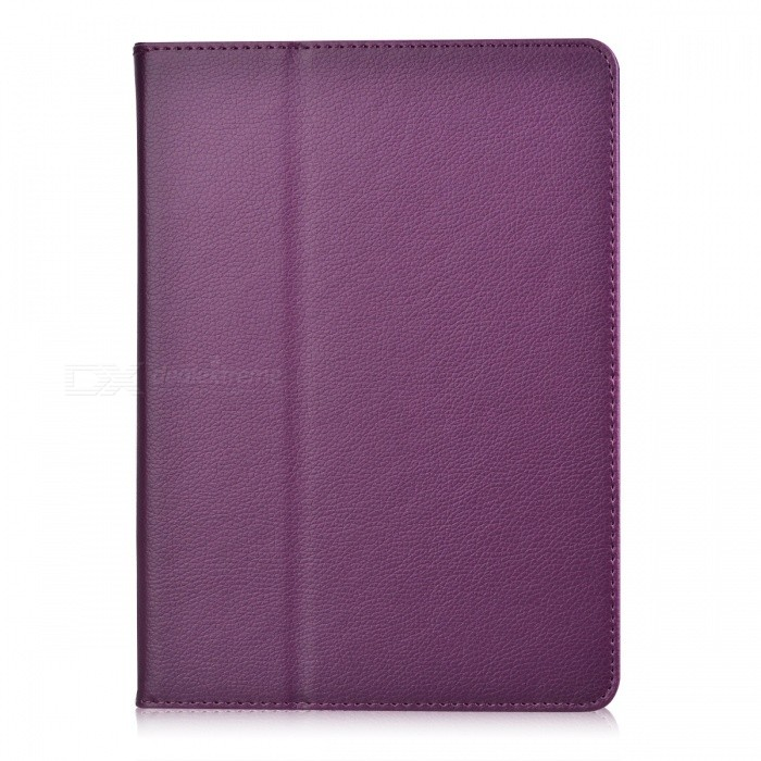 Litchi Pattern 2-Fold Protective PU Leather Case Cover Stand for Ipad AIR - Purple камера ip vstarcam c7838wip cmos 1 4 1280 x 720 h 264 wi fi rj 45 lan белый