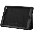 Litchi Pattern Protective PU Case Cover Stand for Ipad AIR - Black