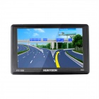"HUNYDON HY-108 5"" Resistive LCD Screen Win CE 6.0 European Map GPS Navigator - Black"