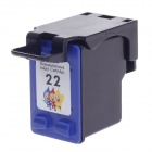 HONINK 22 Color Compatible Ink Cartridge for HP Deskjet3920, 3940, D1360, D1460, d2360 + More -Black