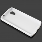 """S"" Style Protective TPU Back Case for Google Nexus 5 - White"