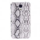 SAYOO 2320 Snakeskin Pattern Protective PU Leather Back Case for Samsung Galaxy S4 i9500 - White
