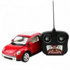 HuanQi Beetle 2-CH Wireless Remote Control 1:18 Car Model - Red