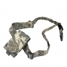 Outdoor Mobile Phone Bag + Gun Rope Sling Set - ACU Camouflage