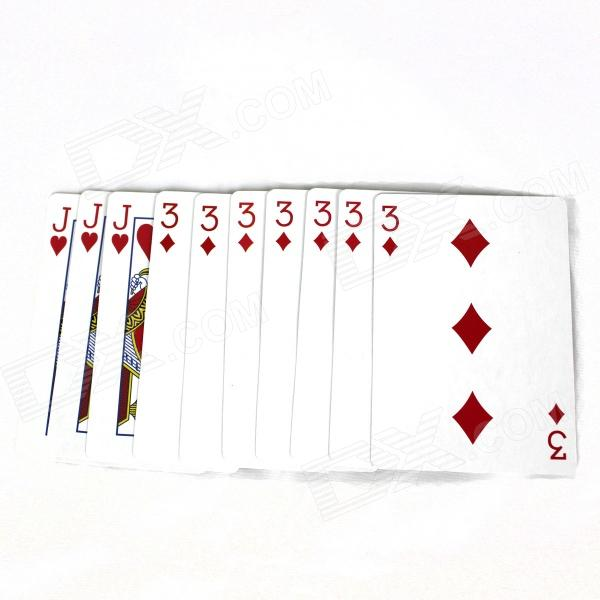 Magic Poker Magic Props - Multicolored (10 PCS)