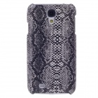 SAYOO 2322 Snakeskin Pattern Protective PU Leather Back Case for Samsung Galaxy S4 i9500 - Black