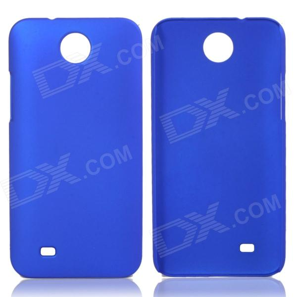 Fashionable Super Thin Protective Glaze PC Back Case for HTC Desire 300 - Deep Blue fashionable super thin protective glaze pc back case for nokia lumia 1320 deep blue